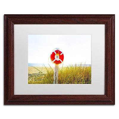Trademark Fine Art ''Florida Beach Saver'' by Preston 11