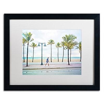 Trademark Fine Art ''Florida Beach Walk'' by Preston 16