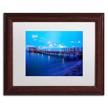 Trademark Fine Art ''Florida Pier'' by Preston 11
