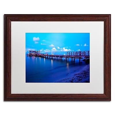 Trademark Fine Art ''Florida Pier'' by Preston 16