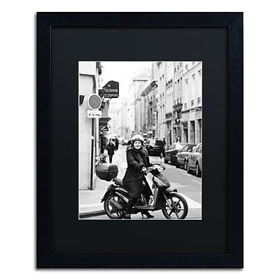 Trademark Fine Art ''Lady in Paris'' by Preston 16