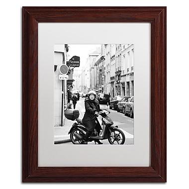 Trademark Fine Art ''Lady in Paris'' by Preston 11