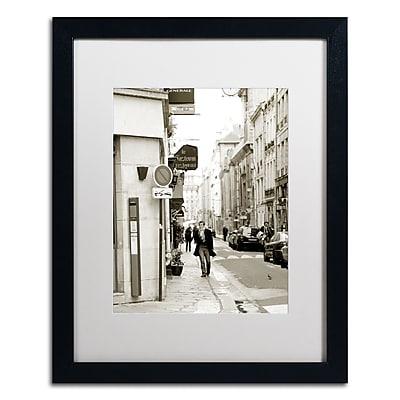 Trademark Fine Art ''Man in Paris'' by Preston 16