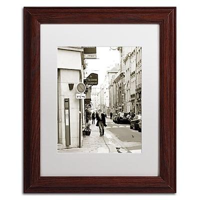 Trademark Fine Art ''Man in Paris'' by Preston 11