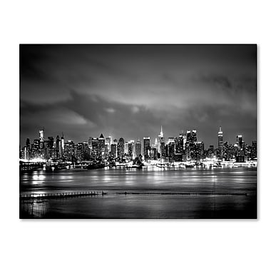 Trademark Fine Art ''New York Skyline'' by Preston 24