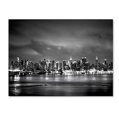 Trademark Fine Art ''New York Skyline'' by Preston 18