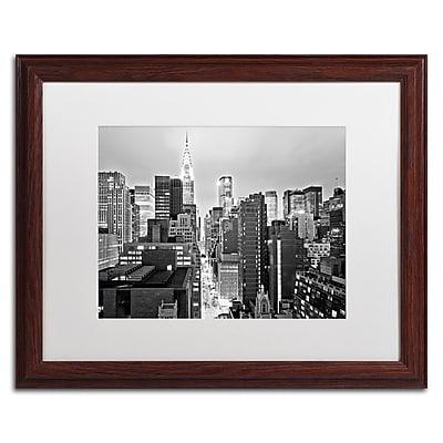 Trademark Fine Art ''New York Skyline 2'' by Preston 16