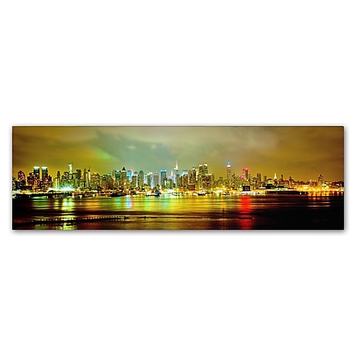 "Trademark Fine Art ''Panoramic'' by Preston 16"" x 47"" Canvas Art (EM0550-C1647GG)"