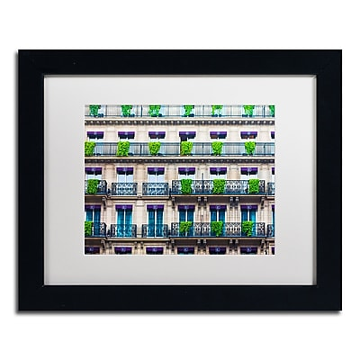 Trademark Fine Art ''Parisian Apartments'' by Preston 11