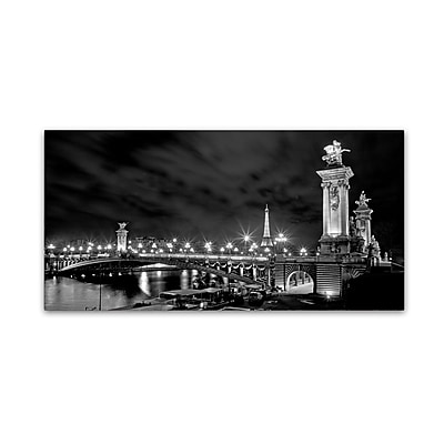 Trademark Fine Art ''Parisian Bridge'' by Preston 24