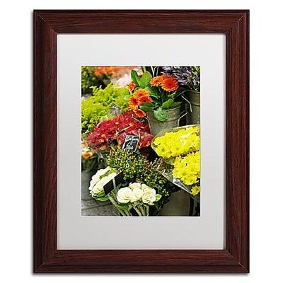 Trademark Fine Art ''Parisian Flowers'' by Preston 11