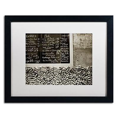 Trademark Fine Art ''Parisian le Sac a Dos'' by Preston 16
