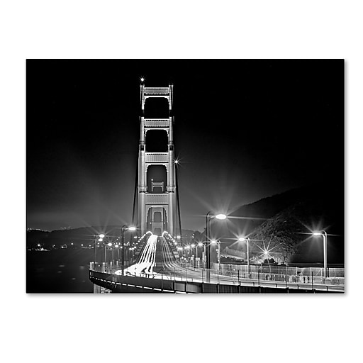 "Trademark Fine Art ''San Francisco'' by Preston 18"" x 24"" Canvas Art (EM0565-C1824GG)"