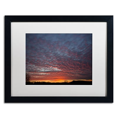 Trademark Fine Art ''Amazing Winter Sunset'' by Kurt Shaffer 16
