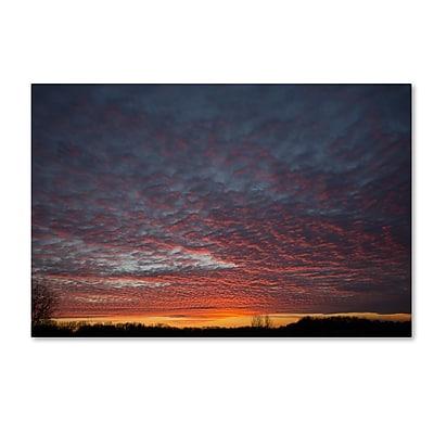 Trademark Fine Art ''Amazing Winter Sunset'' by Kurt Shaffer 12