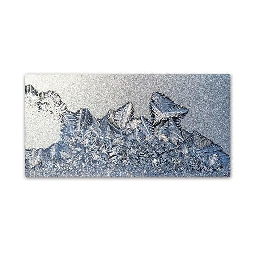 "Trademark Fine Art ''Cold Outside Warm in'' by Kurt Shaffer 10"" x 19"" Canvas Art (KS01064-C1019GG)"