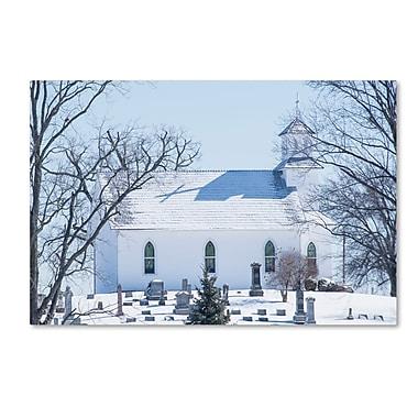 Trademark Fine Art ''A Rural Chapel'' by Kurt Shaffer 22