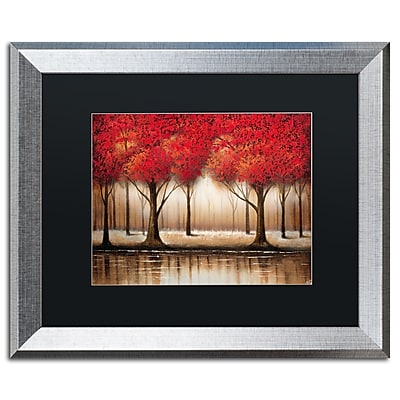 Trademark Fine Art ''Parade of Red Trees'' by Rio 16