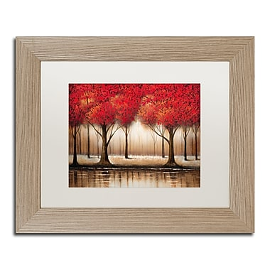 Trademark Fine Art ''Parade of Red Trees'' by Rio 11