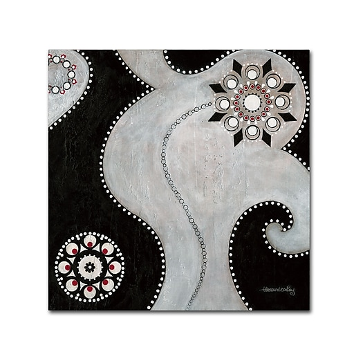 "Trademark Fine Art ''Duality'' by Alexandra Rey 14"" x 14"" Canvas Art (MA0369-C1414GG)"