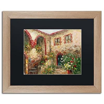 Trademark Fine Art ''Tuscany Courtyard'' by Rio 16