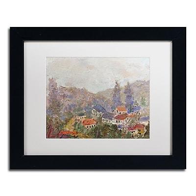 Trademark Fine Art ''Misty Morning'' by Manor Shadian 11