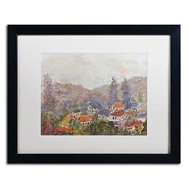 Trademark Fine Art ''Misty Morning'' by Manor Shadian 16