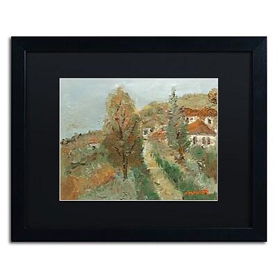 Trademark Fine Art ''Last Days of Fall'' by Manor Shadian 16