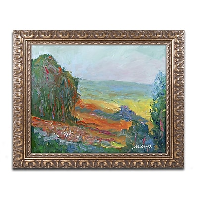 Trademark Fine Art ''Fall Fields'' by Manor Shadian 16