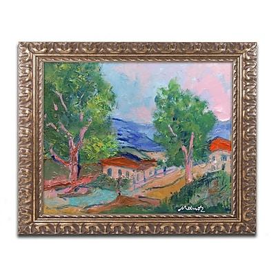 Trademark Fine Art ''Tree Valley'' by Manor Shadian 11