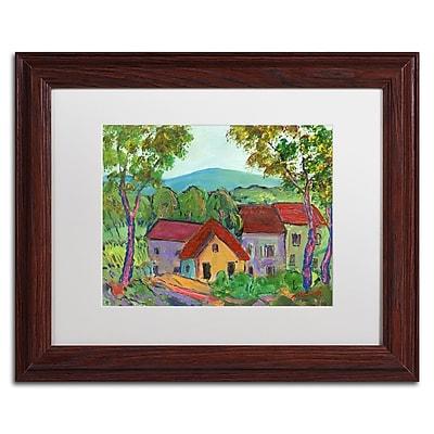 Trademark Fine Art ''Rainbow Home'' by Manor Shadian 11