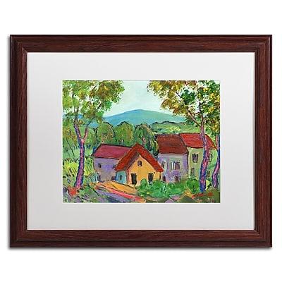 Trademark Fine Art ''Rainbow Home'' by Manor Shadian 16
