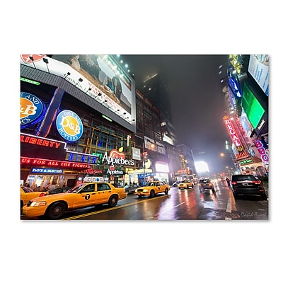 Trademark Fine Art ''42nd. Street'' by David Ayash 22