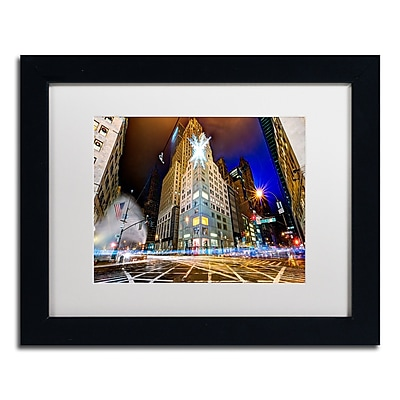 Trademark Fine Art ''Christmas in New York'' by David Ayash 11