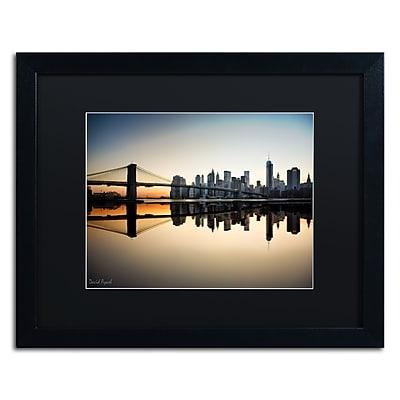 Trademark Fine Art ''Downtown NY'' by David Ayash 16
