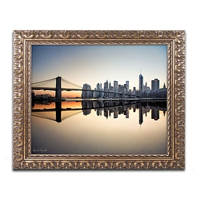Trademark Fine Art ''Downtown NY'' by David Ayash 16