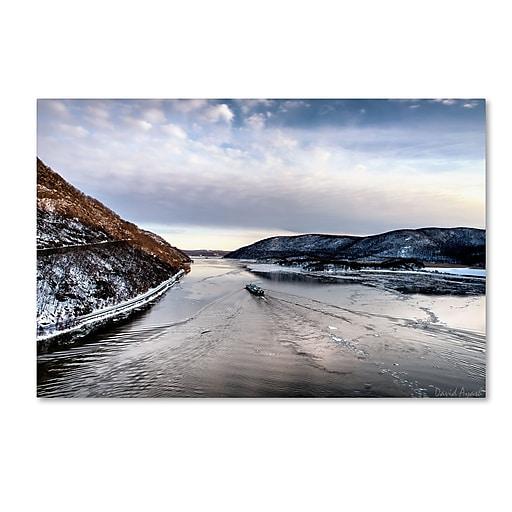 "Trademark Fine Art ''Hudson Valley'' by David Ayash 16"" x 24"" Canvas Art (MA0637-C1624GG)"