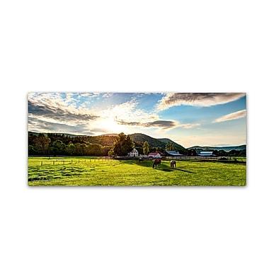 Trademark Fine Art ''Serene Sunset - Vermont'' by David Ayash 10