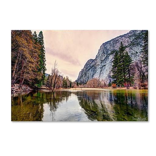 "Trademark Fine Art ''Yosemite Valley'' by David Ayash 12"" x 19"" Canvas Art (MA0645-C1219GG)"
