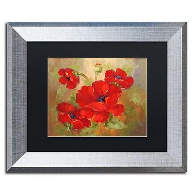 Trademark Fine Art ''Poppies'' by Rio 11