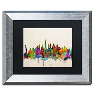 Trademark Fine Art ''New York Skyline'' by Michael Tompsett 11
