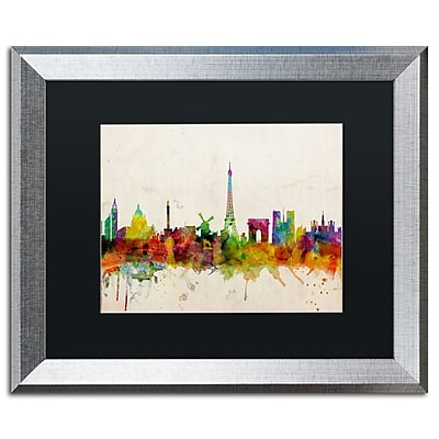 Trademark Fine Art ''Paris Skyline'' by Michael Tompsett 16