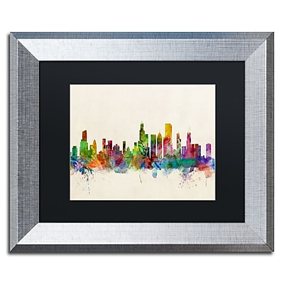 Trademark Fine Art ''Chicago Illinois'' by Michael Tompsett 11