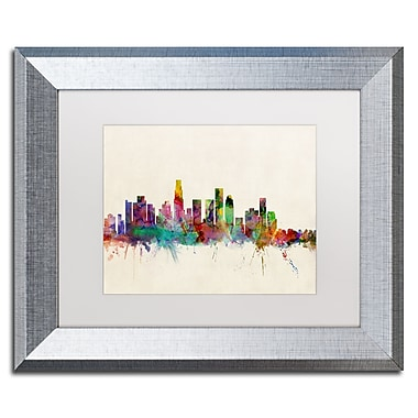 Trademark Fine Art ''Los Angeles CA'' by Michael Tompsett 11