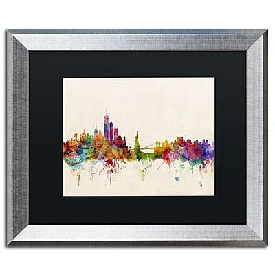 Trademark Fine Art ''New York New York'' by Michael Tompsett 16