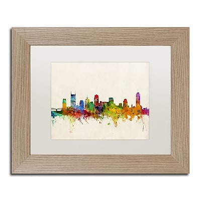 Trademark Fine Art ''Nashville Skyline'' by Michael Tompsett 11