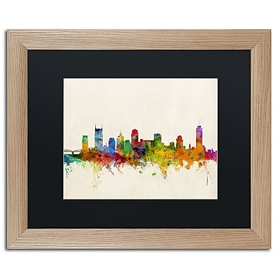 Trademark Fine Art ''Nashville Skyline'' by Michael Tompsett 16