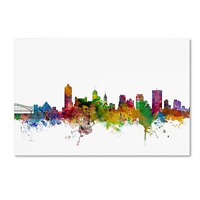 Trademark Fine Art ''Memphis Tennessee Skyline'' by Michael Tompsett 16