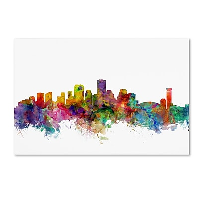 Trademark Fine Art ''New Orleans Louisiana Skyline'' by Michael Tompsett 30