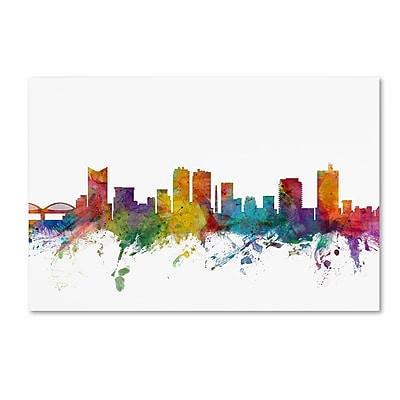 Trademark Fine Art ''Fort Worth Texas Skyline'' by Michael Tompsett 12